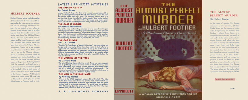 Almost Perfect Murder, The. Hulbert Footner