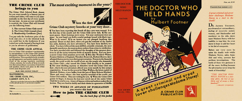 Doctor Who Held Hands, The. Hulbert Footner