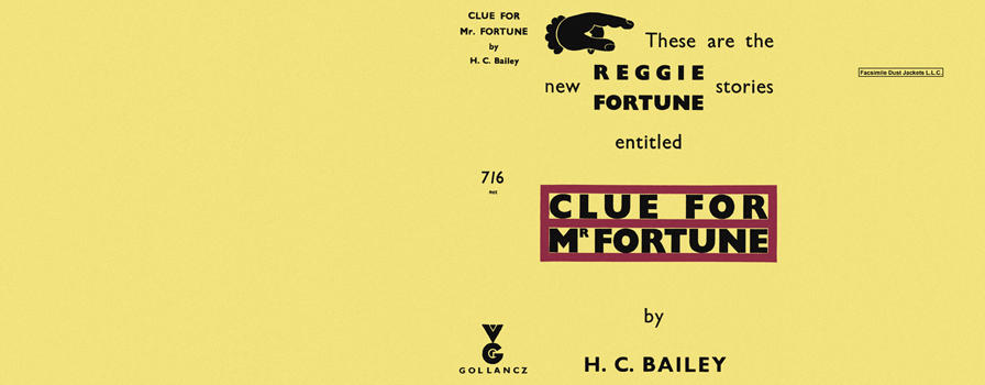 Clue for Mr. Fortune. H. C. Bailey