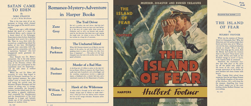 Island of Fear, The. Hulbert Footner