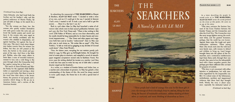 Searchers, The. Alan LeMay