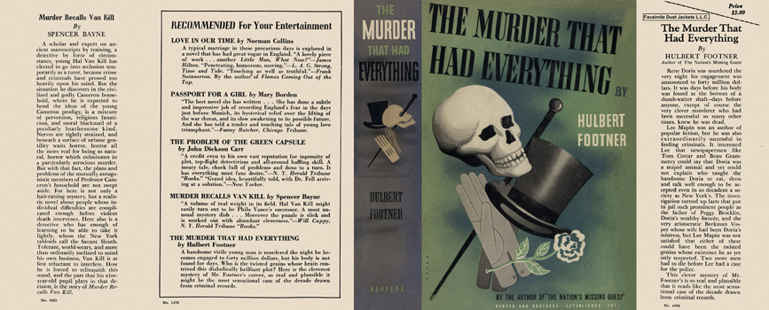 Murder That Had Everything, The. Hulbert Footner