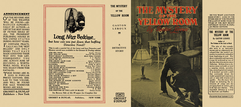 Mystery of the Yellow Room, The. Gaston Leroux
