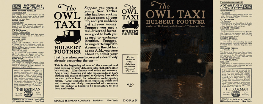 Owl Taxi, The. Hulbert Footner