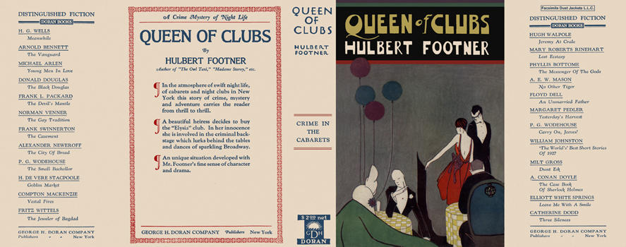 Queen of Clubs. Hulbert Footner