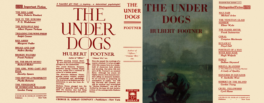 Under Dogs, The. Hulbert Footner