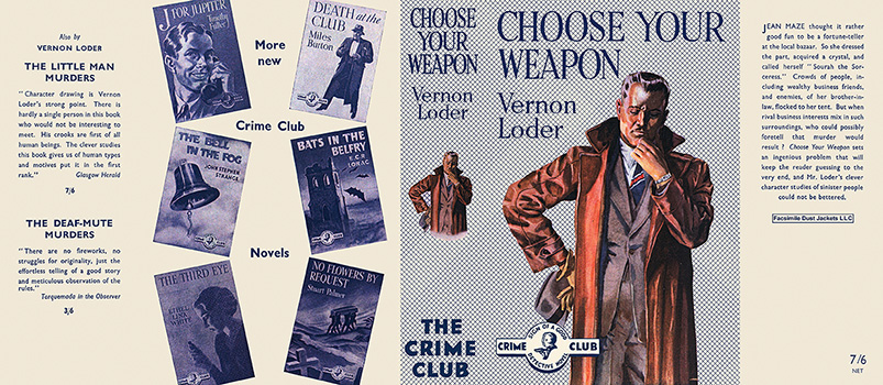 Choose Your Weapon. Vernon Loder