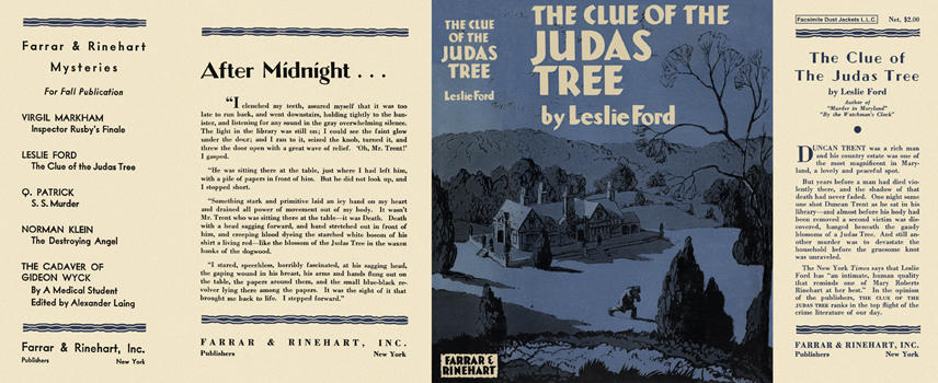 Clue of the Judas Tree, The. Leslie Ford