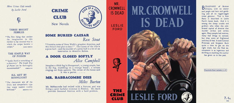 Mr. Cromwell Is Dead. Leslie Ford