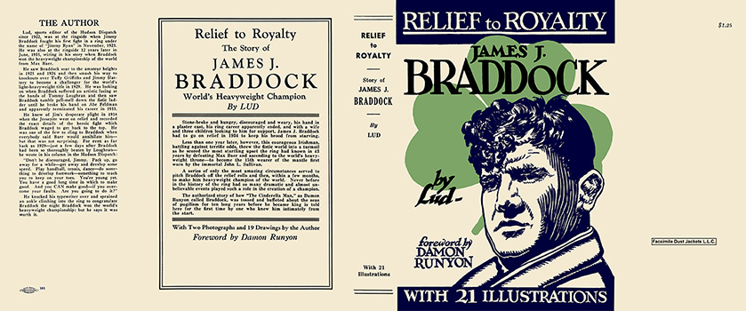Relief to Royalty, Story of James J. Braddock. Lud, Ludwig Shabazian.