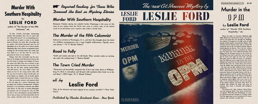 Murder in the OPM. Leslie Ford
