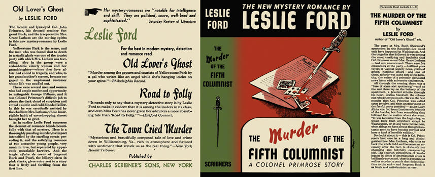 Murder of the Fifth Columnist, The. Leslie Ford