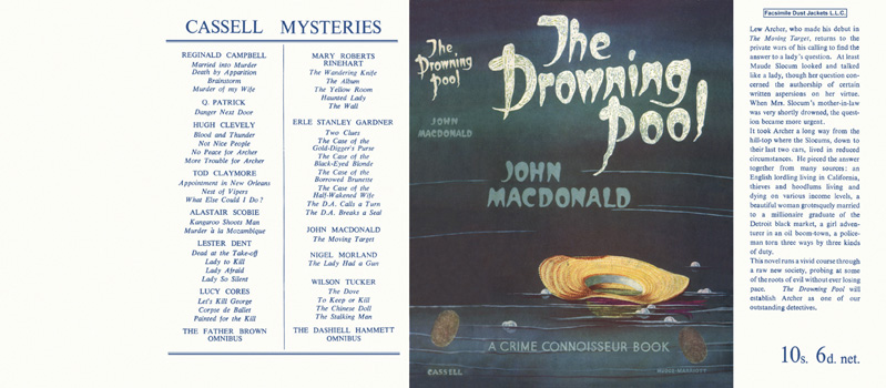 Drowning Pool, The. John Ross Macdonald