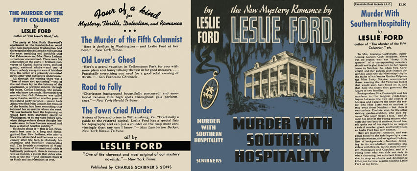Murder with Southern Hospitality. Leslie Ford