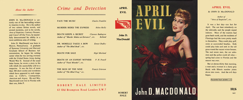April Evil. John D. MacDonald.