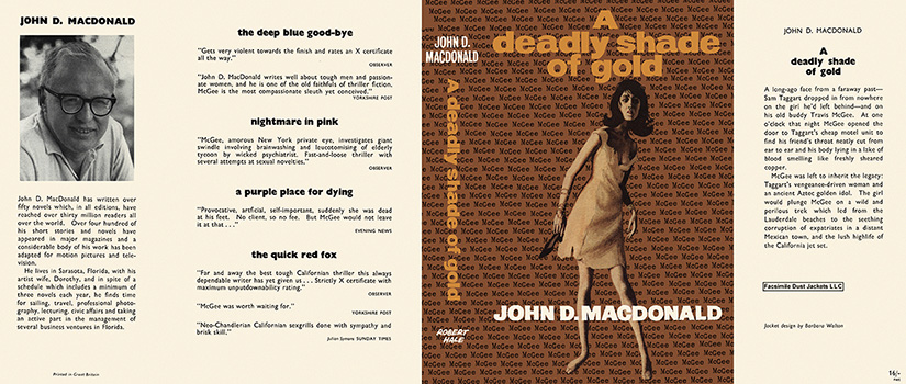 Deadly Shade of Gold, A. John D. MacDonald.