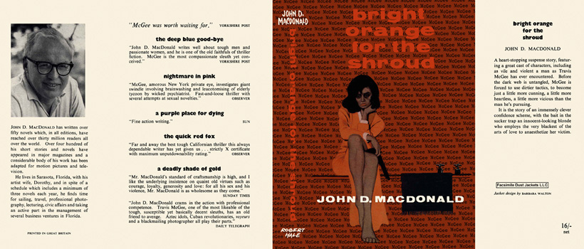 Bright Orange for the Shroud. John D. MacDonald.