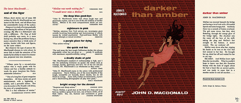 Darker Than Amber. John D. MacDonald.