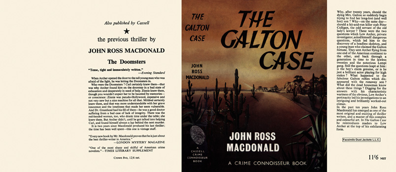 Galton Case, The. John Ross Macdonald