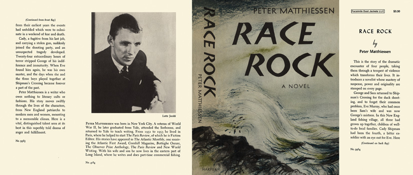Race Rock. Peter Matthiessen