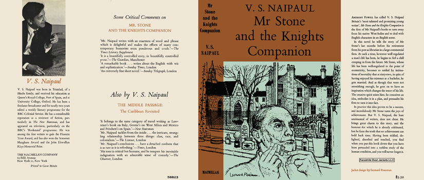 Mr. Stone and the Knights Companion. V. S. Naipaul