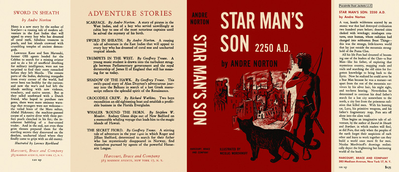 Star Man's Son 2250 A.D. Andre Norton.