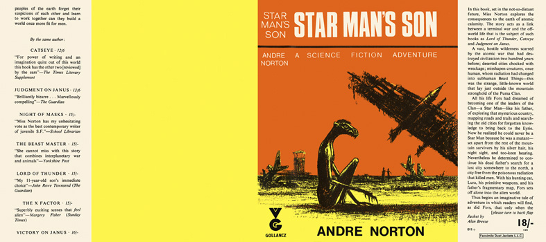 Star Man's Son. Andre Norton.