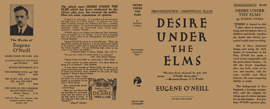 Desire Under the Elms. Eugene O'Neill