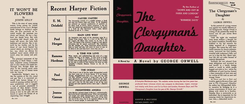 Clergyman's Daughter, The. George Orwell