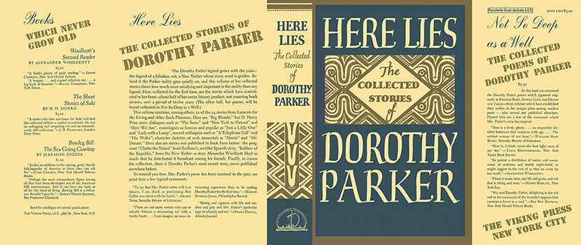 Here Lies, The Collected Stories of Dorothy Parker. Dorothy Parker
