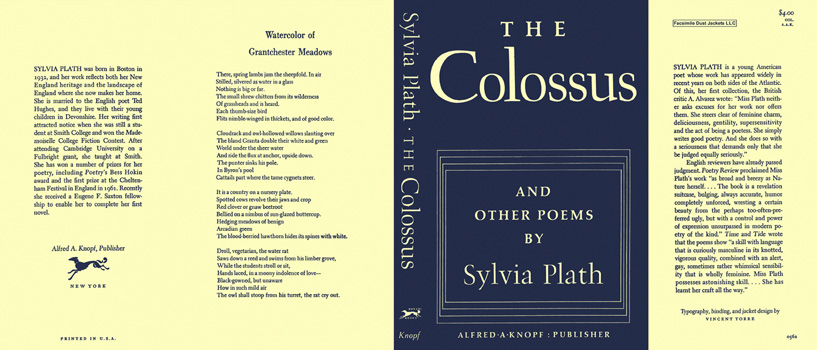 Colossus and Other Poems, The. Sylvia Plath