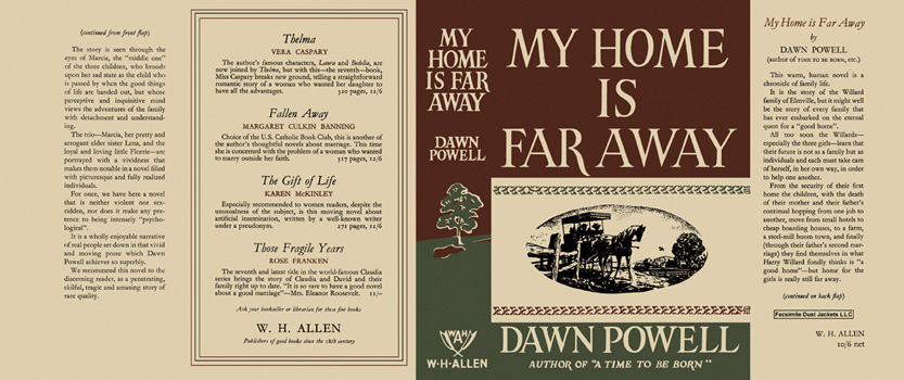 My Home Is Far Away. Dawn Powell