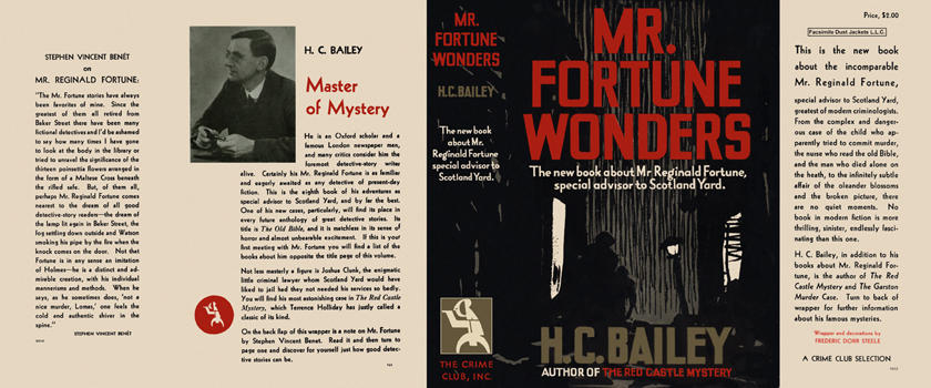 Mr. Fortune Wonders. H. C. Bailey.