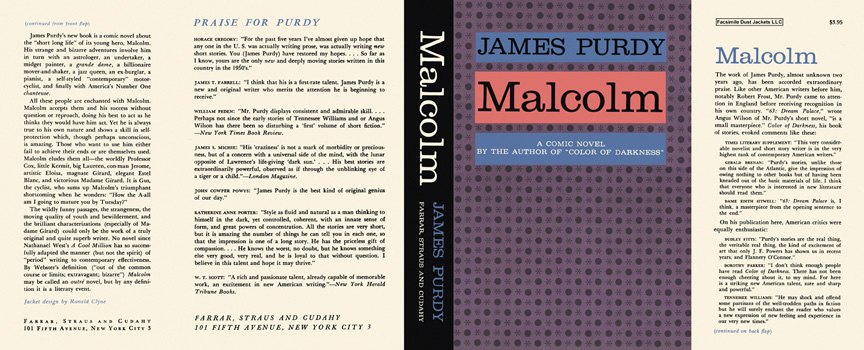 Malcolm. James Purdy