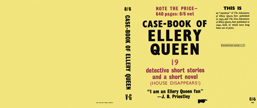 Case-Book of Ellery Queen. Ellery Queen
