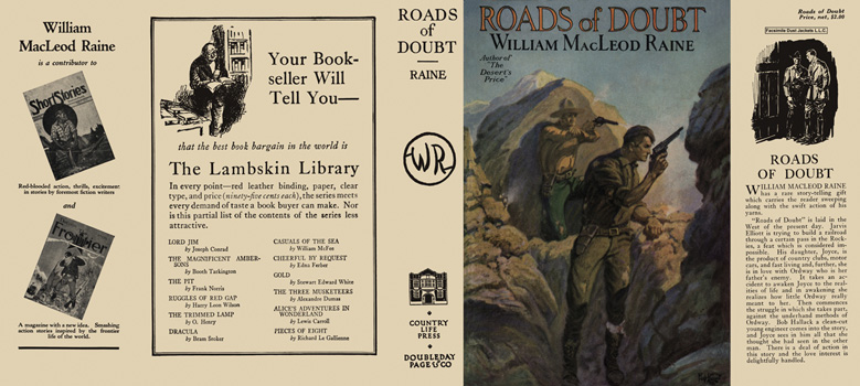 Roads of Doubt. William MacLeod Raine