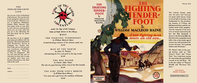 Fighting Tenderfoot, The. William MacLeod Raine.
