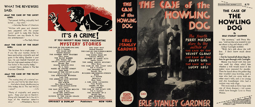 Case of the Howling Dog, The. Erle Stanley Gardner.