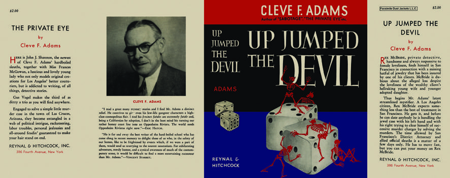 Up Jumped the Devil. Cleve F. Adams.