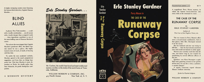 Case of the Runaway Corpse, The. Erle Stanley Gardner