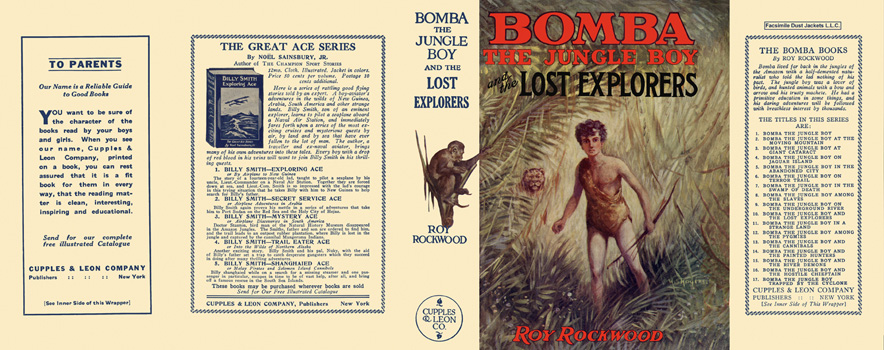 Bomba #10: Bomba the Jungle Boy and the Lost Explorers. Roy Rockwood