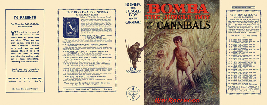 Bomba #13: Bomba the Jungle Boy and the Cannibals. Roy Rockwood
