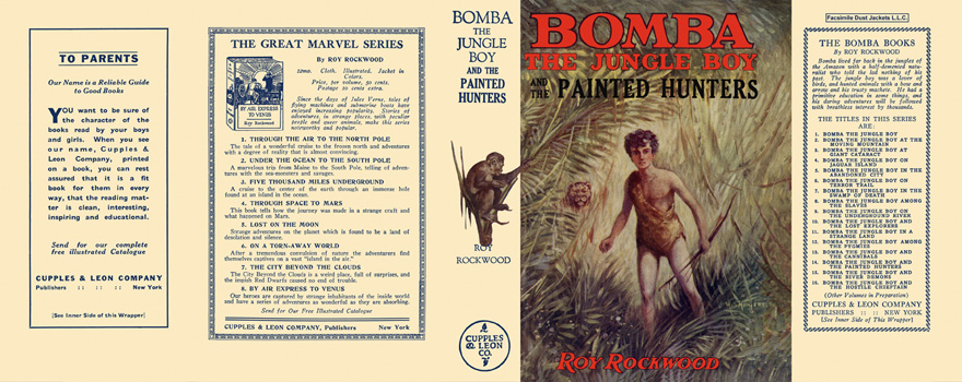 Bomba #14: Bomba the Jungle Boy and the Painted Hunters. Roy Rockwood