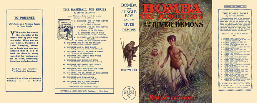 Bomba #15: Bomba the Jungle Boy and the River Demons. Roy Rockwood