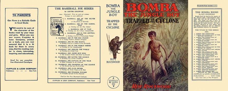 Bomba #17: Bomba the Jungle Boy Trapped by the Cyclone. Roy Rockwood