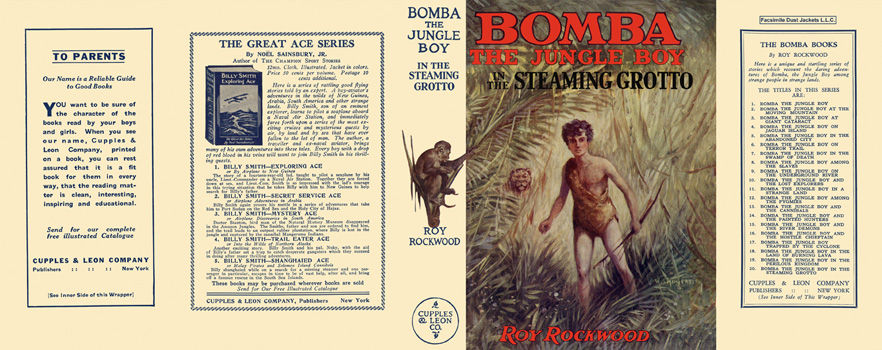 Bomba #20: Bomba the Jungle Boy in the Steaming Grotto. Roy Rockwood