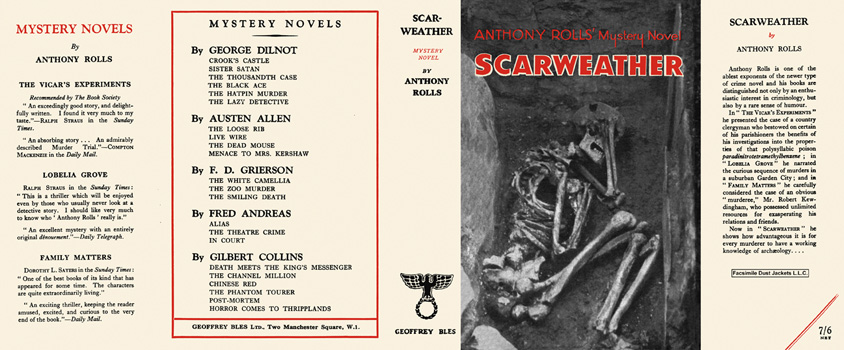 Scarweather. Anthony Rolls.