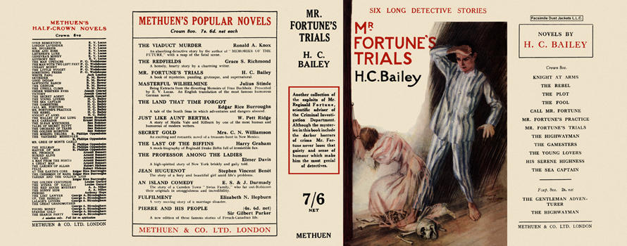 Mr. Fortune's Trials. H. C. Bailey