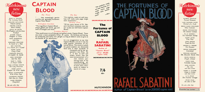 Fortunes of Captain Blood, The. Rafael Sabatini.