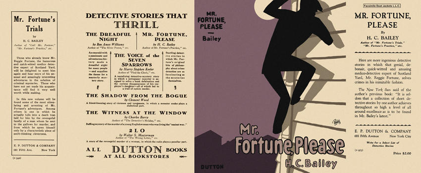 Mr. Fortune, Please. H. C. Bailey
